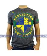 Affliction Sport Brazil A14000 Manche Courte Graphique Sport T-Shirt pou... - $39.55