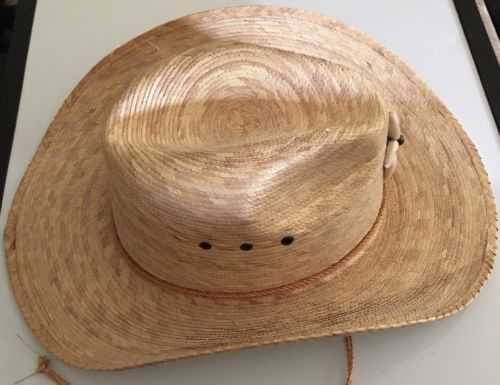 Legitimo Sahuayo Summit Straw Cowboy Cowgirl Western Hat Size 56 Mexico 7 USA