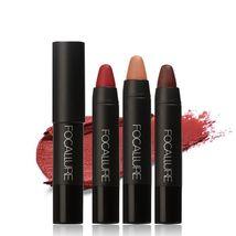 Matte Lipsticks Waterproof Lip Sticks Long Lasting Pencil Cosmetic Lips Makeup image 8
