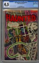 THIS MAGAZINE IS HAUNTED #11 CGC 4.5 GOLDEN AGE HORROR - $454.72
