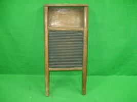 Vintage Washboard Wood and Metal - $18.66