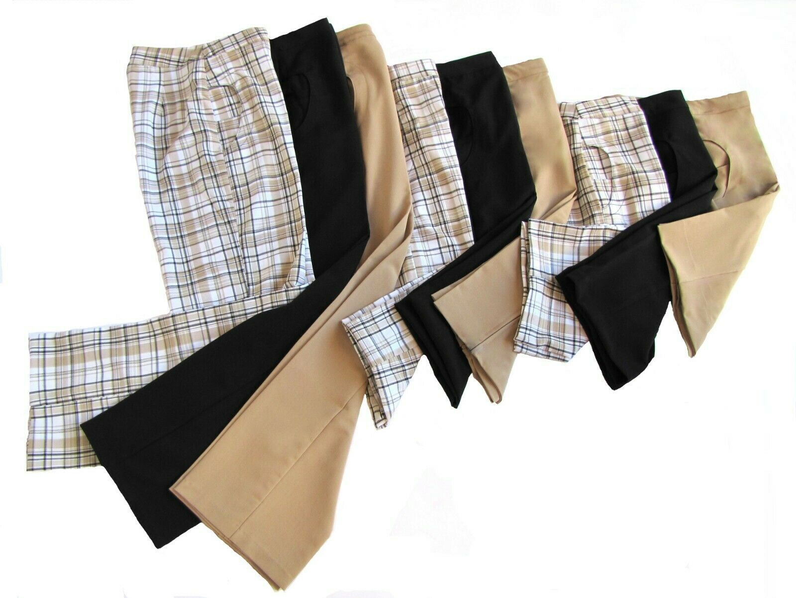 """20"""" Stylish Plaid Golf Skort with Attached Shortie - New - GoldenWear image 3"""