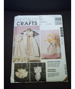 """McCall's Crafts 6608 Heavenly Accents fabric angels & dolls 3 sizes 9"""" 1... - $4.75"""