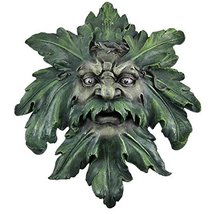 Large Celtic Green Man Wall Hanging Greenman Pagan - $47.51