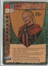 Loki - Blood Wars Collectible Card Game - TSR - Warlord -  1993. - $0.97