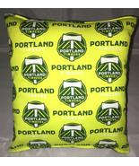 Timbers Pillows Portland Timbers MLS Pillow Handmade in USA. - $9.97