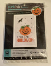 Artiste Zweigart Mini Counted Cross-Stitch Card - Happy Halloween - $4.50