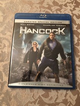 HANCOCK Will Smith Blu Ray Unrated Special Edition Dvd  - $5.00