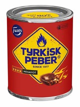 Tyrkisk Peber Megahot 300g tin (SET OF FIVE) FAZER Finland - $64.34