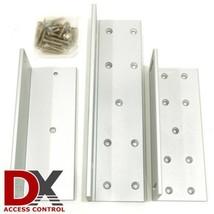 DX Series Z and L Bracket for 1200lb inward swing door - $39.95