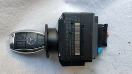 Mercedes Ignition Start Switch Module & Key Fob Keyless Entry Remote 2095451708 image 1