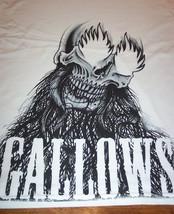 Gallows Hardcore Punk Band Skull T-Shirt Medium New - $19.80
