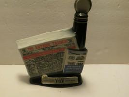 VTG Jim Beam Antique Trader 11th Anniversary Illinois Decanter, 1968 - $14.84