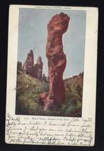 Major Domo, GARDEN of the GODS Colorado * mailed 1904 1c stamp to Michigan - $4.90