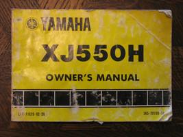 81 Yamaha XJ550H Maxim XJ550 H Xj 550H 550 Oem Original Driver's Owner's - $74.95