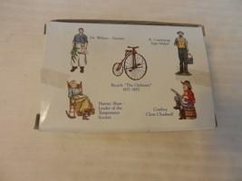 Liberty Falls 5 Pewter Figurines, Dr. Wilson, Bicycle, B. Cummings, Cowb... - $29.70