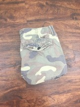 AMERICAN EAGLE Men's Green and Brown Camouflage Cargo Shorts Size 32 - $528,16 MXN