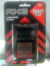 Axe signature intense ticket body perfume Pocket Perfume,17 Ml 250 spray fs - $5.43