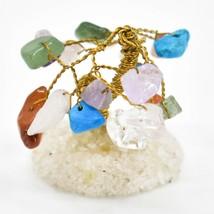Mixed Polished Gemstone Colorful Variety Miniature Gem Tree Mini Gemtree image 2