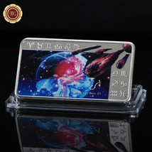 WR Astrological Sign Scorpio Silver Art Bar Token Colored Constellation ... - $4.66