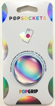 PopSockets Phone & Tablet Grip Rainbow Orb Gloss PopGrip With Swappable Top NEW