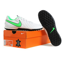 Nike Tiempo Legend 8 Academy TF Football Boots Soccer Cleats White AT6100-030 - $97.99