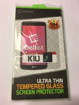 CELLET Premium Tempered Glass Screen Protector For LG K10 - $12.16