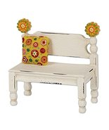Studio M Flower Post Bench for Miniature Garden, Fairy Garden - $16.34