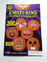 Emoti-kins Summer Melon Pumpkin Gift Sticker Decorating Kit Fun World Ha... - $7.91