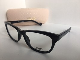 New LIU JO LJ 2640 LJ2640 001 Ebony Glitter 54mm Rx Women's Eyeglasses F... - $134.99