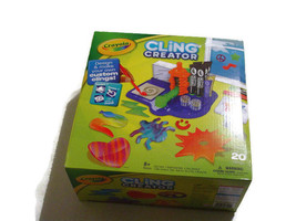 Crayola Cling Creator Art Activity Make up to 20 Customized Clings Easy ... - $19.79