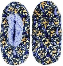 FROZEN II DISNEY ELSA Girls Fuzzy Babba Slippers Sz S/M (8-13) or M/L (1... - $6.99
