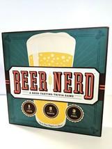 Beer Nerd A Beer Tasting Trivia Board Game Great Gift 4 Beer Lovers Complete EUC - $9.84