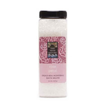 Bath Salts, Rose Petal 32 oz by One with Nature - $9.19