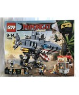 Lego 70656 Toys Lass Only Ninjago Garmadon Shark Mecha Movie - $205.73