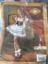Octoberfest Girl Halloween Dress size Medium InCharacter Costumes Cosplay - $14.84
