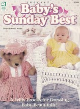 Baby's Sunday Best, House of White Birches Crochet Pattern Booklet 101098  - $12.95