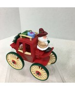 1988 Hallmark Kringle Koach 10th  Christmas Tree Ornament MIB w Price Ta... - $34.65