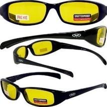 Global Vision Eyewear New Attitude Sunglasses, Yellow, Yellow - $16.81