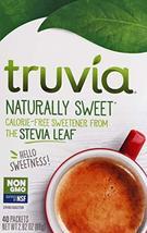 Truvia, Sweetener Natural No Calorie Non Gmo, 40 Count - $4.16