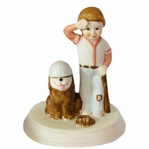 Moments to Remember porcelain figurine sculpture gift Wallace Berrie bas... - $24.70