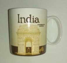 India Starbucks Mug / Global Icon Collector Series / 2013 / 16 oz / Coff... - $29.09