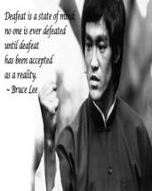 "Bruce lee man cave Print wall hanging ""8x10"" decorations wall picture de... - $8.66"