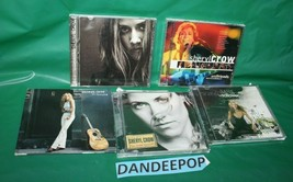 5 Sheryl Crow & Friends Music CD's Globe Sessions Central Park Detours Wildfloer - $29.69