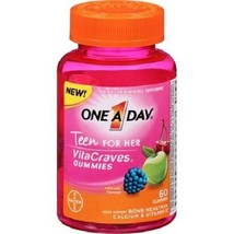 One A Day Teen for Her VitaCraves Multivitamin/Mineral Supplement Gummies - $13.71