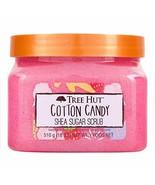 Tree Hut Cotton Candy Shea Sugar Scrub 18 Oz! Formulated With Real Sugar... - $19.59