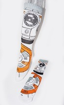 BB-8 CREW SOCKS BY HYP - DISNEY'S STAR WARS 2016 ADULT SHOE SIZE 6-12 NEW - $7.88