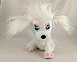 "Mattel Barbie White Dog Plush Puppy 8"" 2010 Stuffed Animal - $11.81"