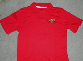 The Big Bang Theory Bazinga Symbol Licensed Embroidered Polo Shirt NEW U... - $21.28