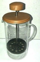 Vintage Glass Coffee Press Made In Holland 1970s - $19.99